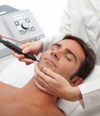 Radiofrecuencia facial con vitaminas
