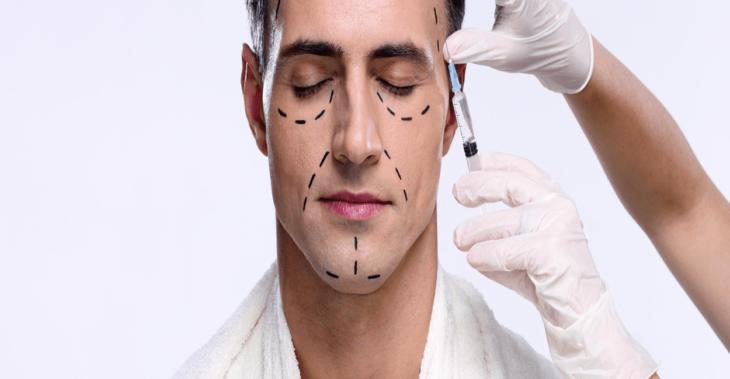 Procedimientos del paciente estético masculino